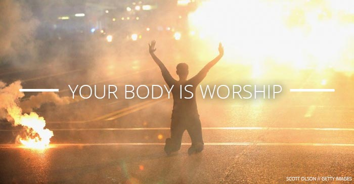 Your body is worship