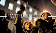 with-his-body