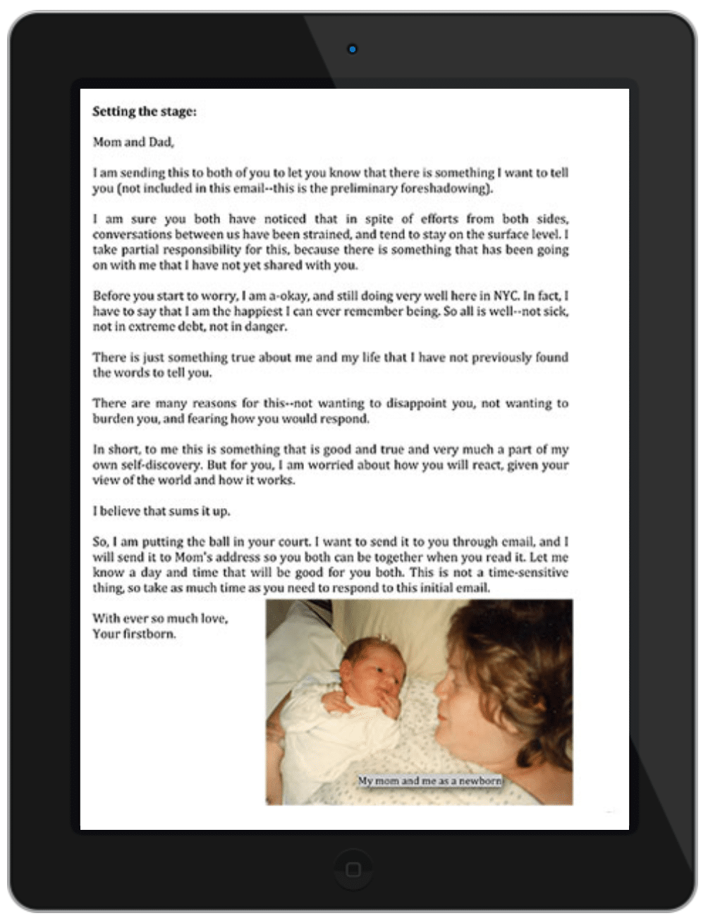 Letters of Love page 2
