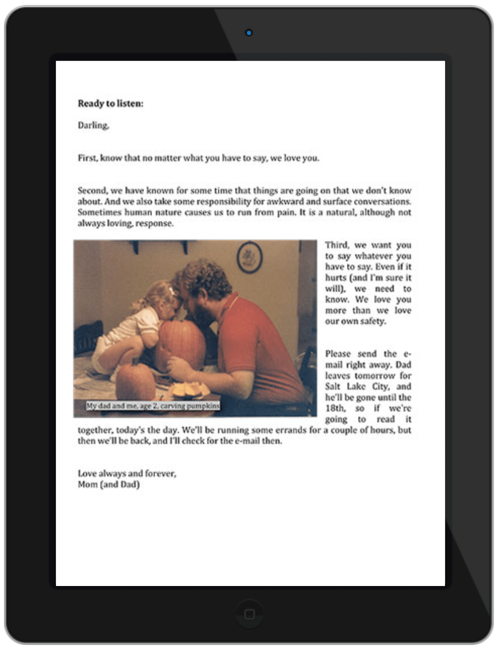 Letters of Love page 3
